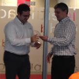 Sergio Moreno Director RRHH Securitas Direct Oscar Sanchez Customer Care Manager