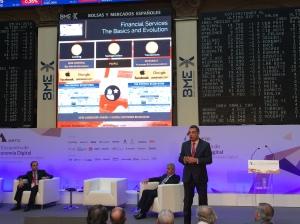 Alfredo Redondo durante su intervención en el evento de AMETIC