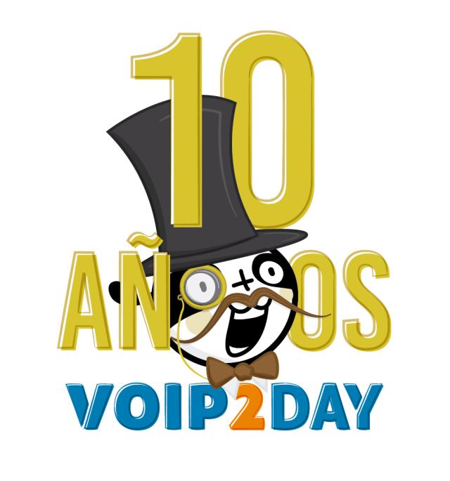 p Logo 10 años