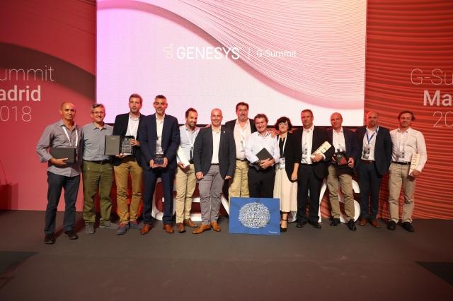 Premiados G-Summit GENESYS