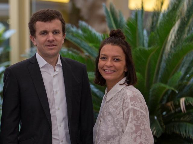 Frédéric Durand, CEO de Diabolocom, y Leïla Bouguetaia, directora comercial de Diabolocom en España 2.jpg