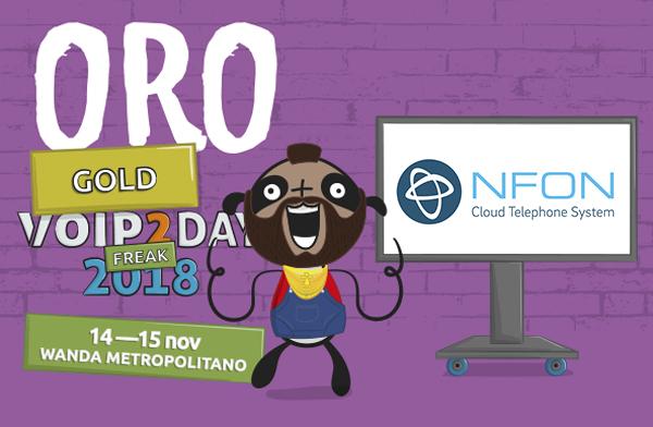 VoIP2DAY Patrocinador ORO - Nfon